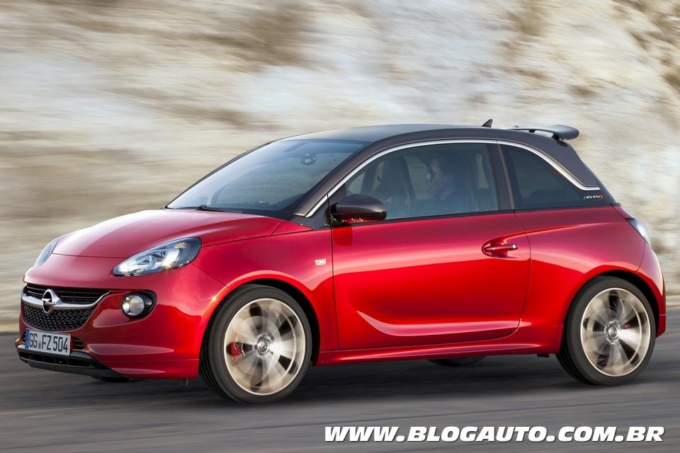 Opel Adam S é exibido em Genebra com motor 1.4 turbo