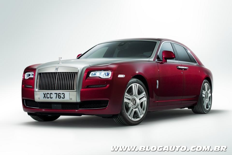 Rolls-Royce Ghost II ganha mudanças visuais e tecnológicas