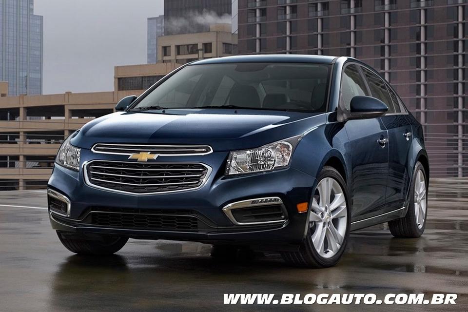 Chevrolet Cruze ganha reestilização leve nos EUA