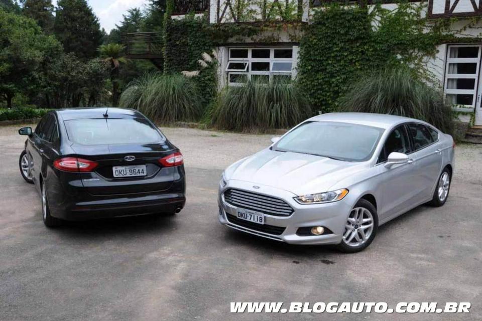 Ford Fusion passa por segundo recall em 2014