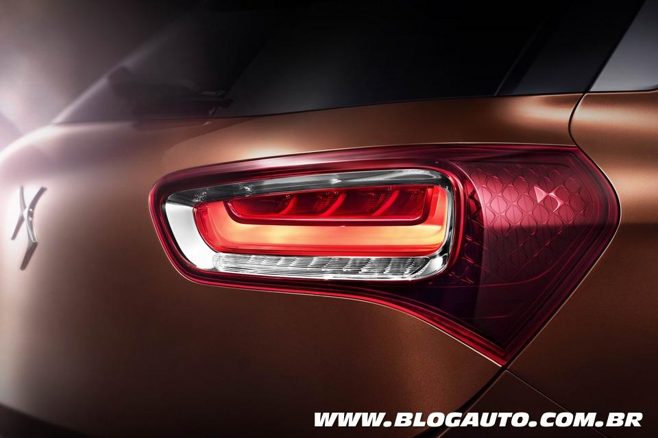 Citroën DS X7 tem teaser revelado e estará em Pequim