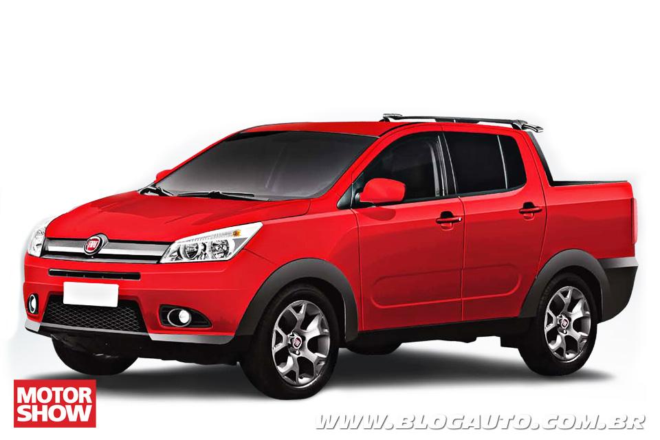 Motor Show confirma picape média Fiat, adiantada por BlogAuto