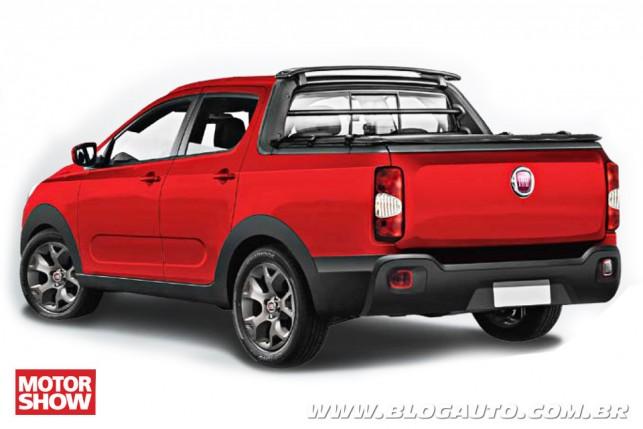 Picape Média Fiat projeção Motor Show