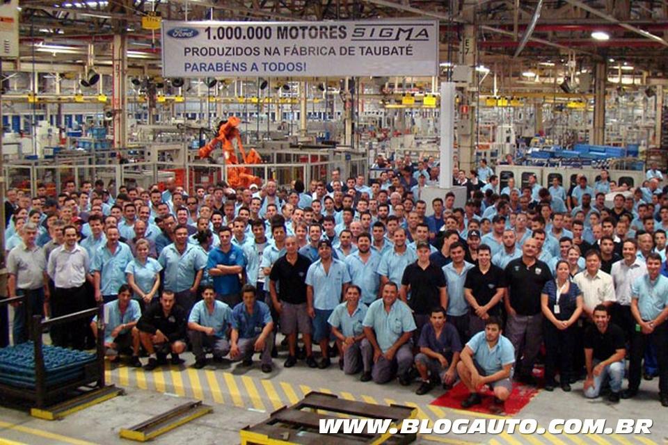 1 milhão de motores Sigma