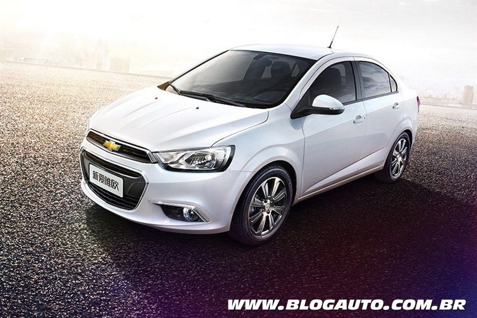 chevrolet sonic com novo visual ganha primeiras imagens. Black Bedroom Furniture Sets. Home Design Ideas