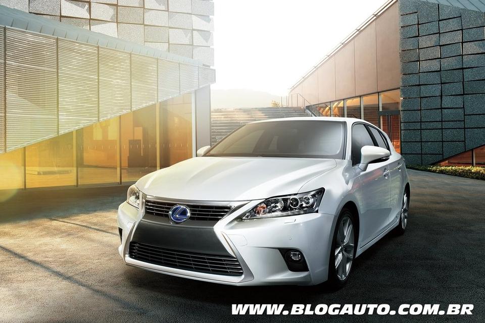 Tabela de preços dos veículos da Lexus