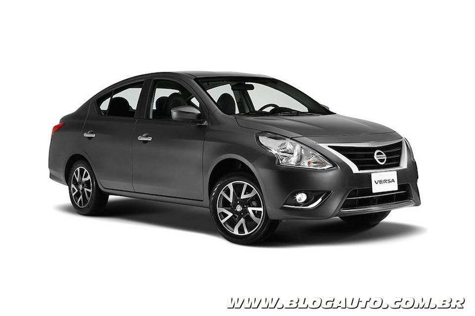 Nissan New Versa terá preço inicial de R$ 41.990