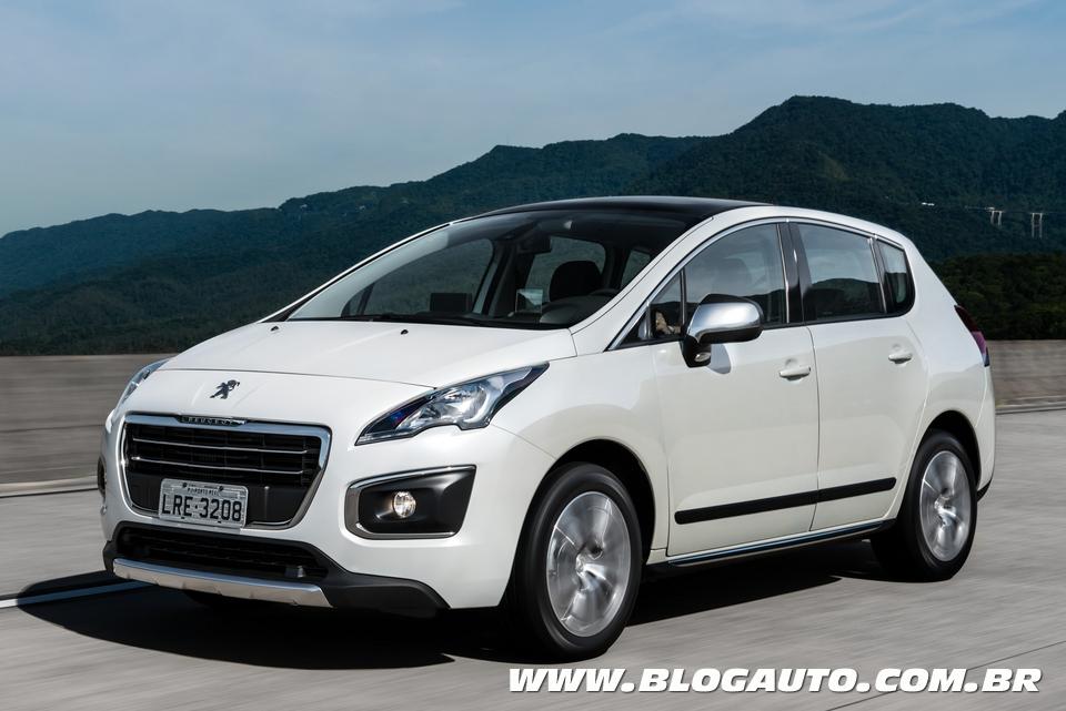 Peugeot 3008 fica 10 mil reais mais caro na linha 2015