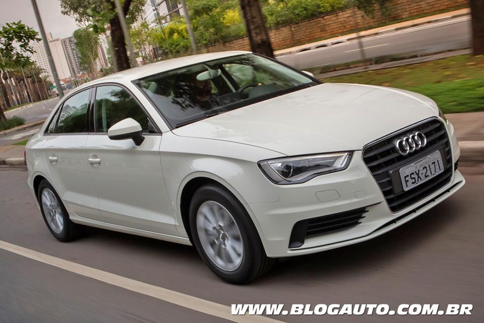 Avaliação: Audi A3 Sedan 1.4 dá coceira de ter