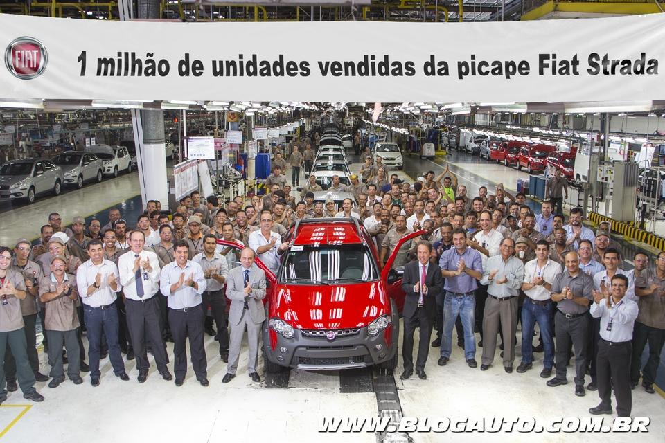 Fiat Strada 1 milhão de unidades
