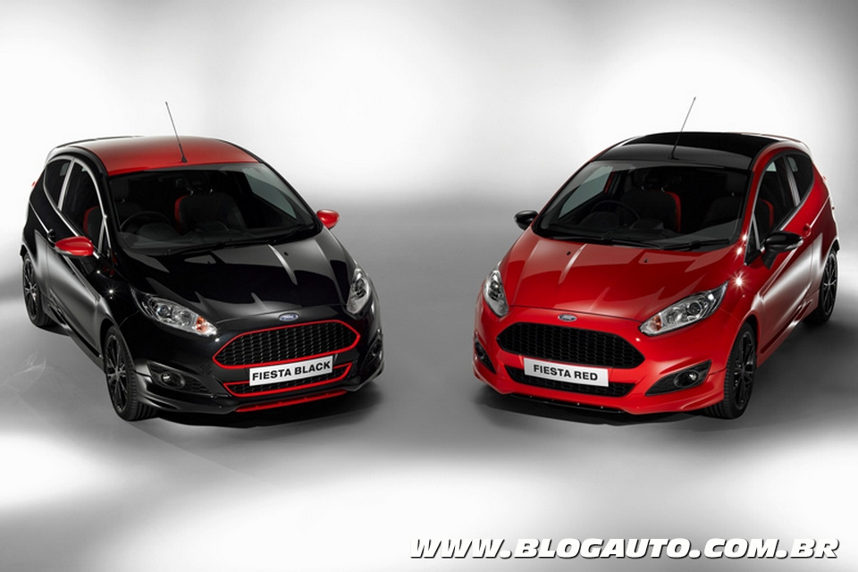 Ford Fiesta Red and Black Edition