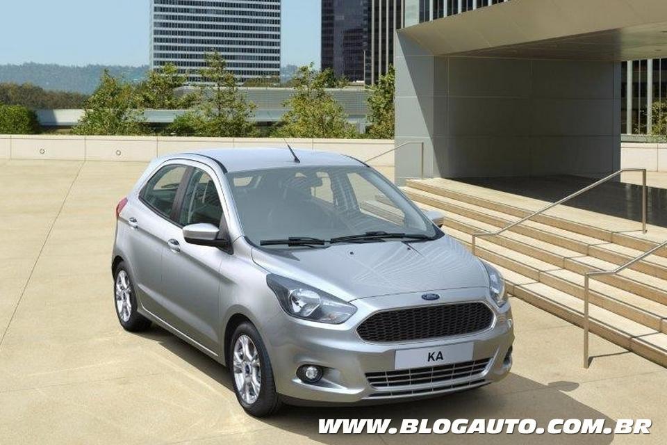 Novo Ford Ka Hatch
