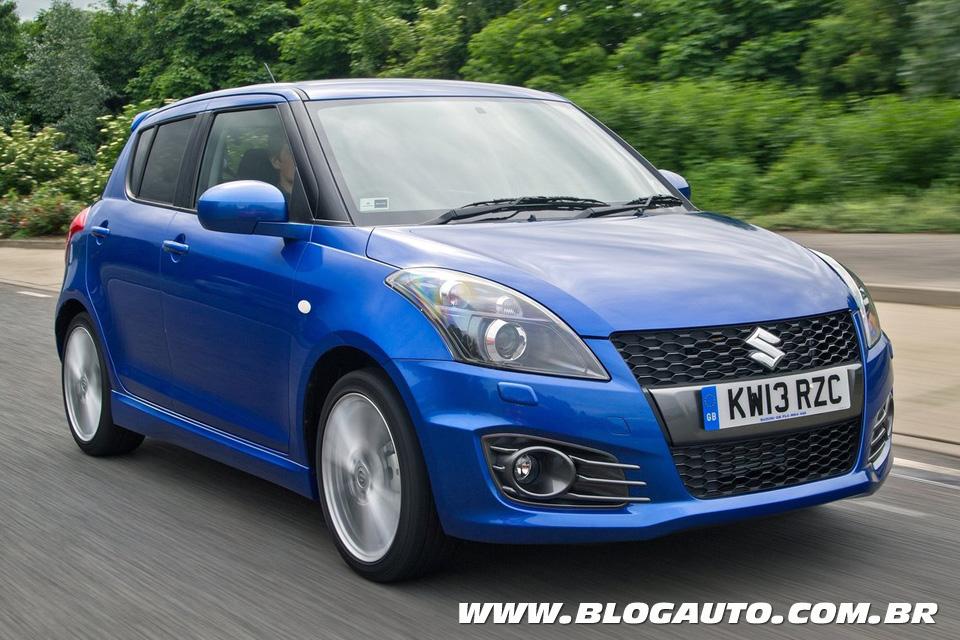 Suzuki Swift Sport vendido na Europa