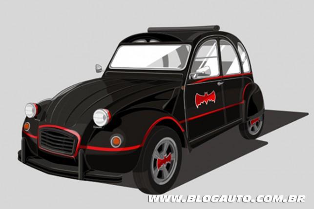 Citroën 2CV - Batmóvel