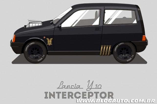 Lancia Y10 - Interceptor do filme Mad Max