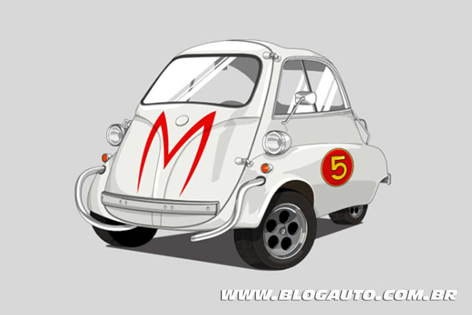 Romi Isetta - Mach 5 do Speed Racer