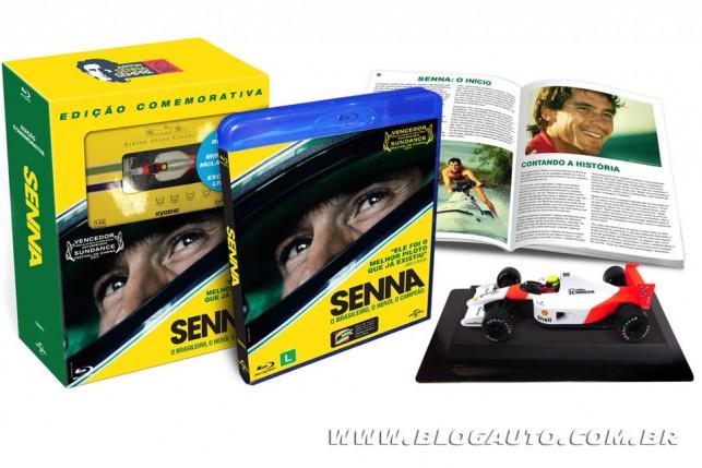 Senna em Blu-ray
