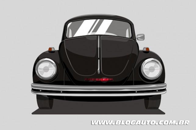 Volkswagen Fusca  - Série Super Máquina