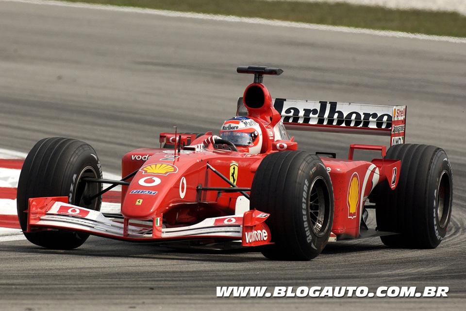 Ferrari F2001 de Rubens Barrichello
