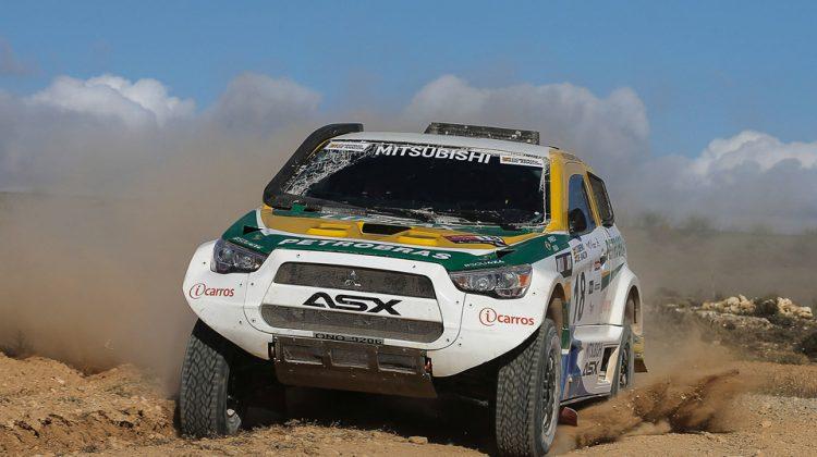 Mitsubishi ASX para o Rally dos Sertões