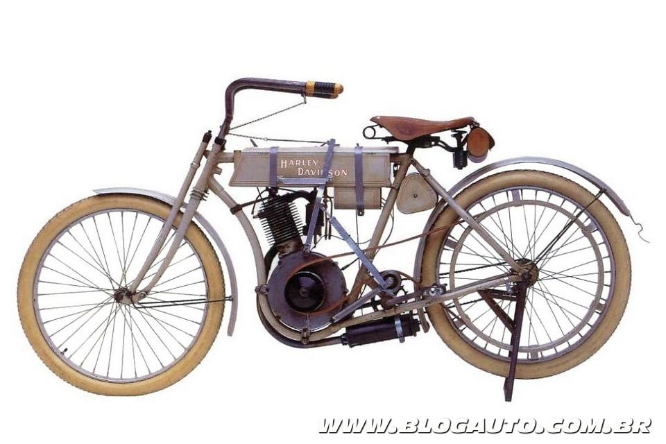 Primeira Harley-Davidson