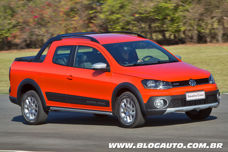 Volkswagen Saveiro Cross Cabine Dupla 2015