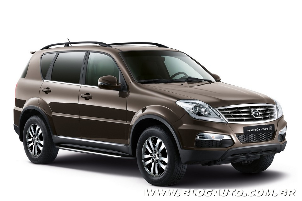 ssangyong rexton w 2015 novidade para agosto blogauto. Black Bedroom Furniture Sets. Home Design Ideas