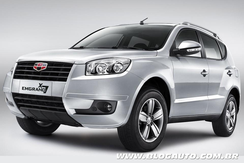 Geely mostrará o SUV EX7 no Salão e deve montá-lo no Uruguai