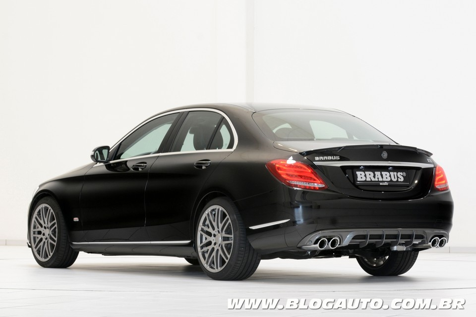 mercedes benz c200 brabus estreia por r 189 mil blogauto. Black Bedroom Furniture Sets. Home Design Ideas