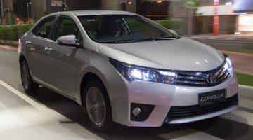 Novo Corolla 2015 já é líder de vendas