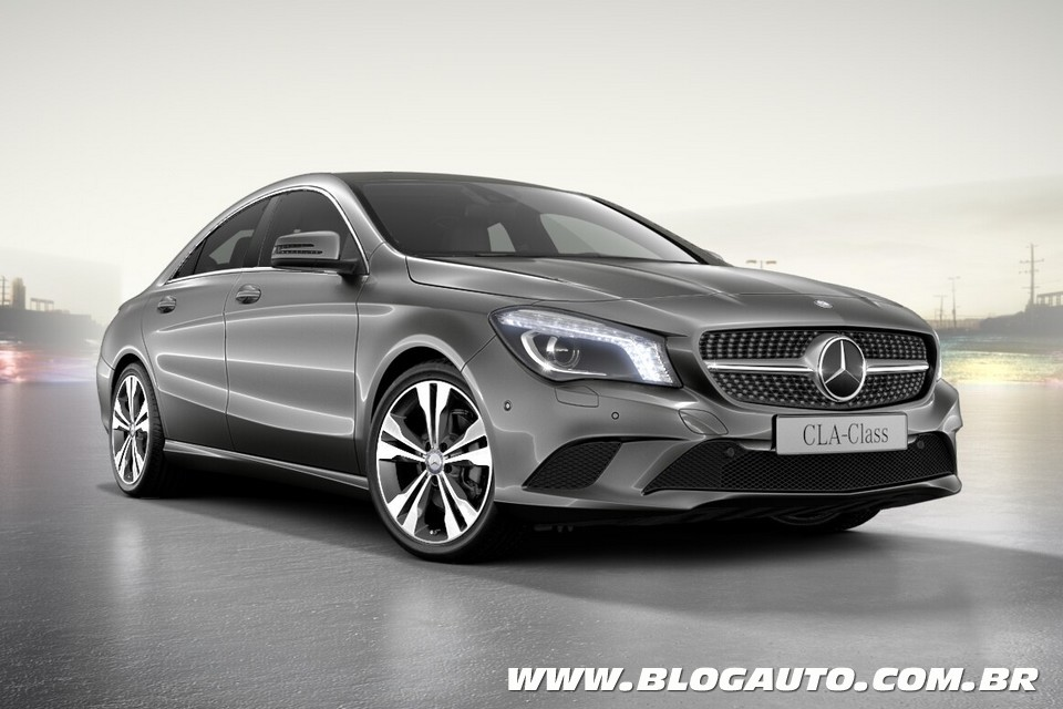 Mercedes benz cla 2015 ganha tr s novas vers es blogauto for Mercedes benz 2015 cla