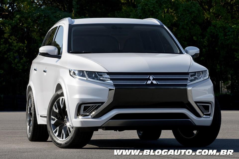 Mitsubishi Outlander Concept antecipa facelift