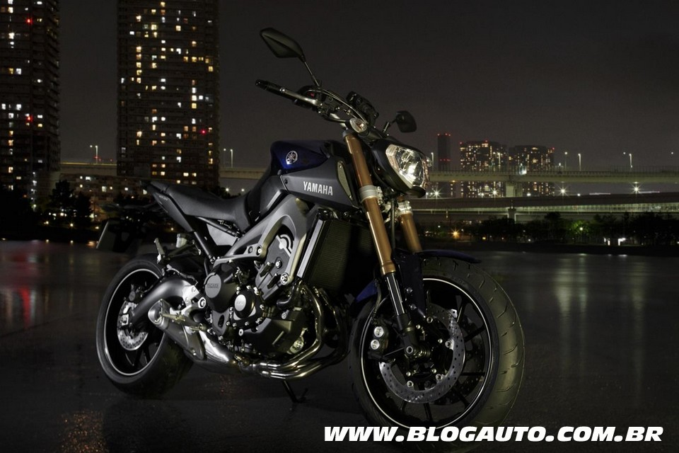 yamaha mt 09 2015 estreia no brasil por r blogauto. Black Bedroom Furniture Sets. Home Design Ideas