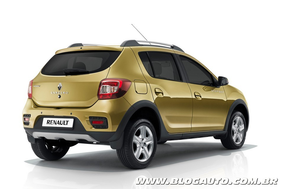 renault sandero stepway 2015 revelado blogauto. Black Bedroom Furniture Sets. Home Design Ideas