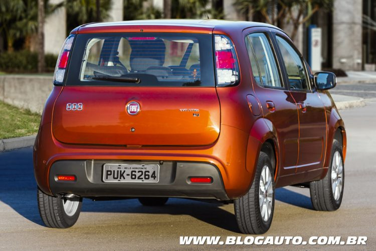 Fiat Uno Evolution 2015