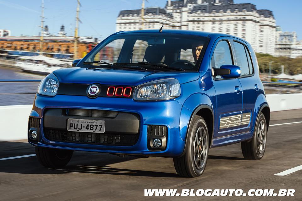 Fiat Uno 2017 vai ter novo motor GSE de 109 cv