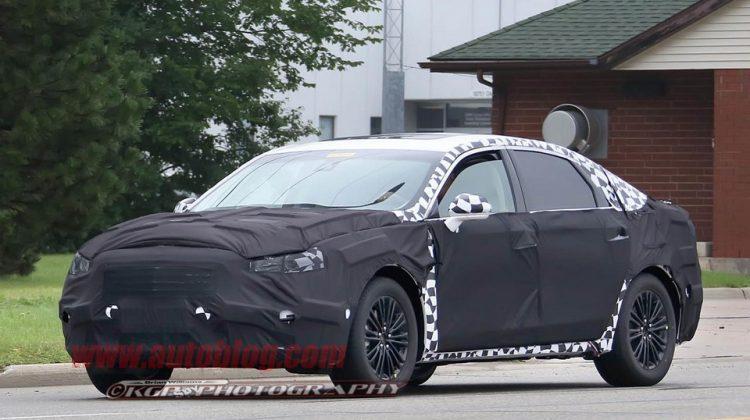 Flagra do Ford Fusion 2017