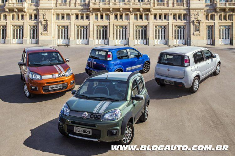 Linha Fiat Uno 2015