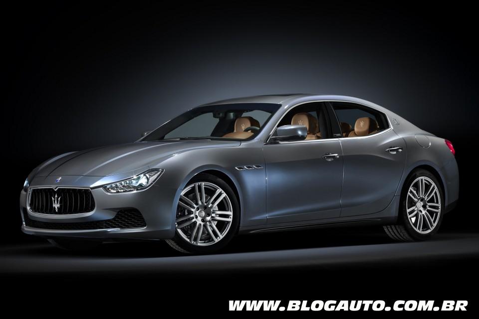 Maserati Ghibli cria versão Ermenegildo Zegna
