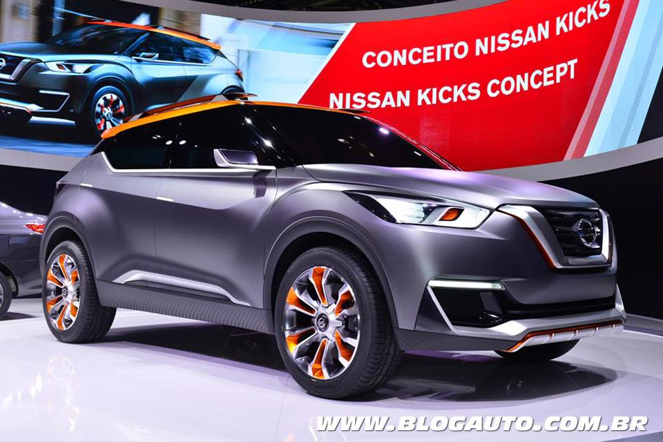 Nissan Kicks chega no Brasil no segundo semestre