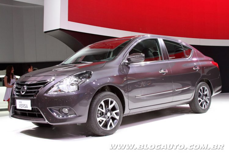 Nissan New Versa 2015