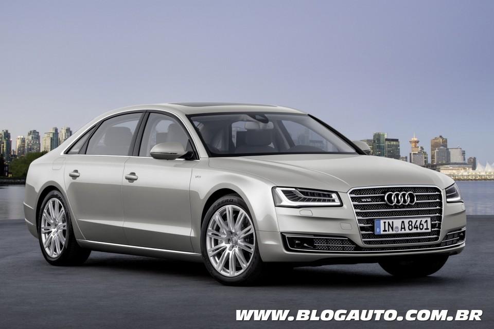 Audi A8 L oferece espaço e luxo por R$ 457.300
