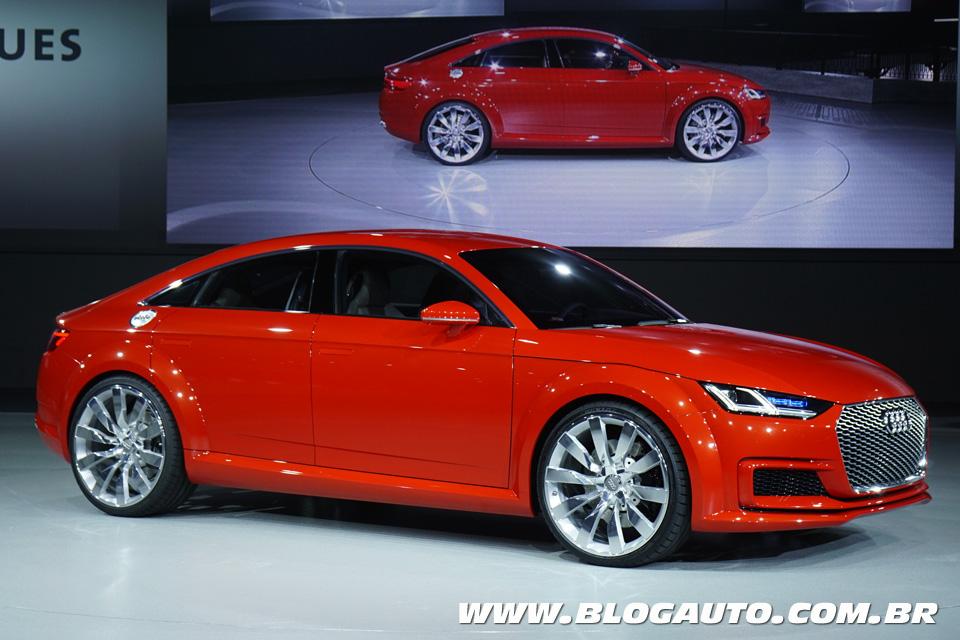 Audi TT Sportback é versão família do cupê