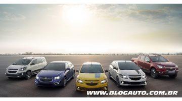 Chevrolet no Salão do Automóvel 2014