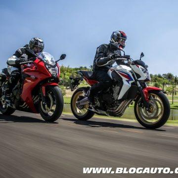 Honda CB 650F e CBR 650F