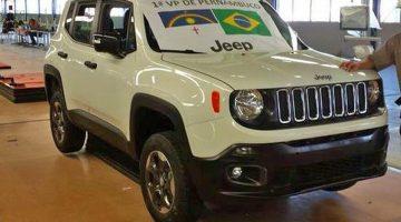 Primeiro Jeep Renegade nacional