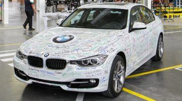 BMW Série 3 na fábrica de Araquari