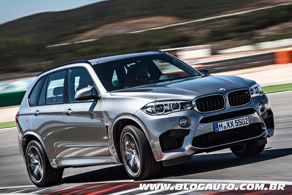BMW X5 M e X6 M estreiam em Los Angeles