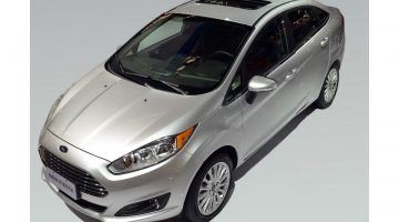 Ford New Fiesta Sedan Titanium Plus