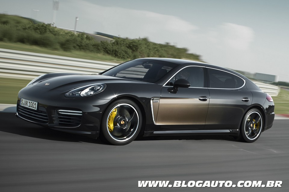 Porsche Panamera Exclusive oferece nova versão de luxo
